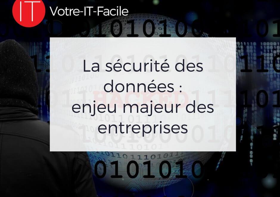 La sécurité des données en entreprise | Votre IT Facile