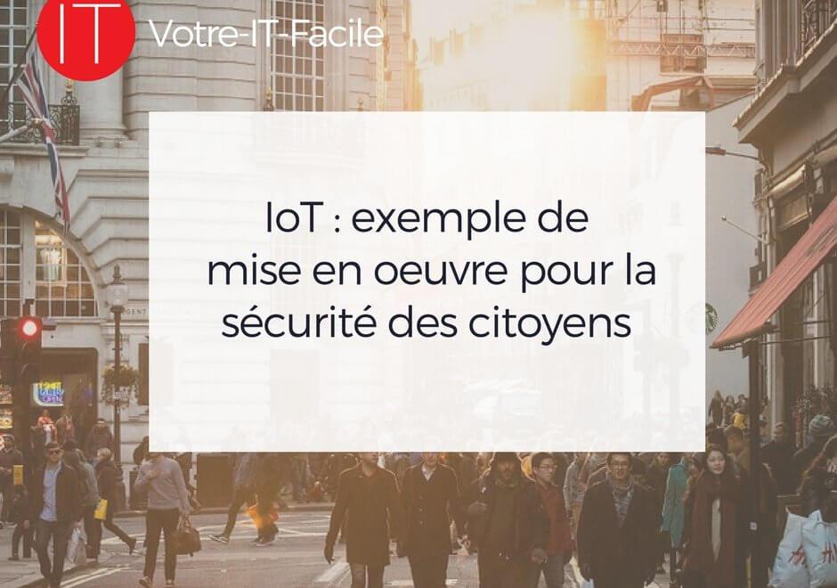 IoT exemple