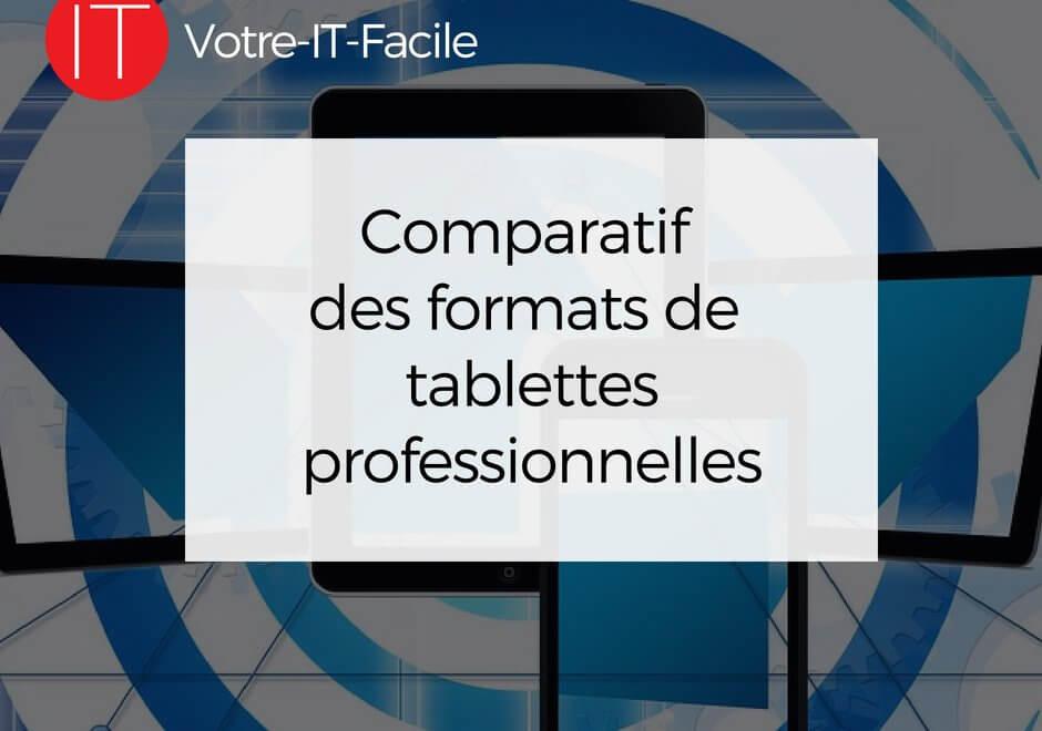 formats de tablettes