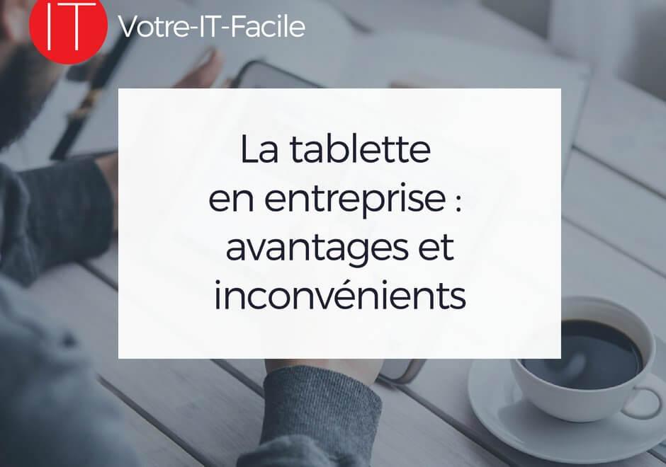 la tablette en entreprise