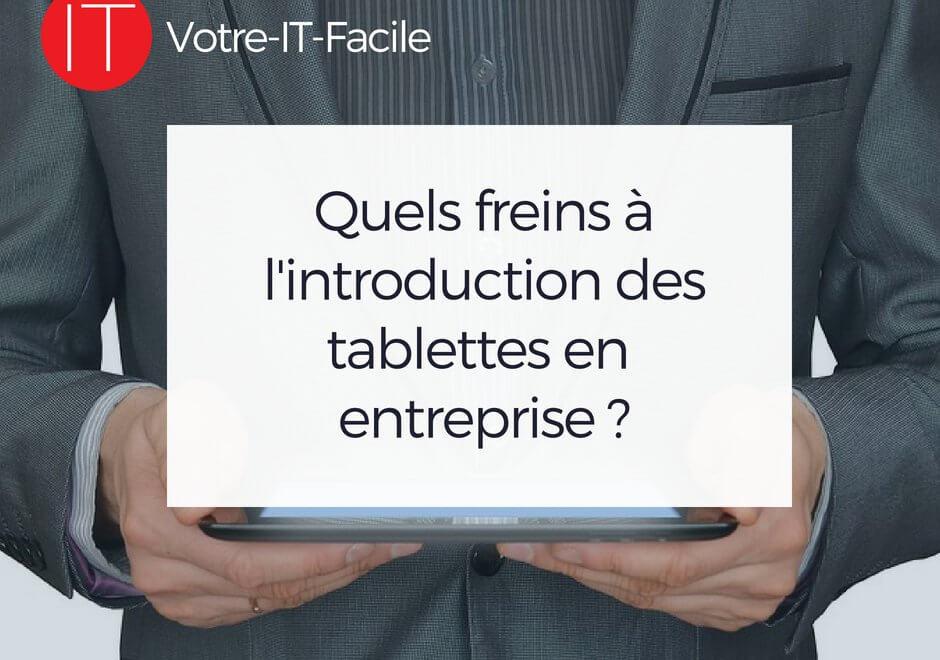 tablettes en entreprise