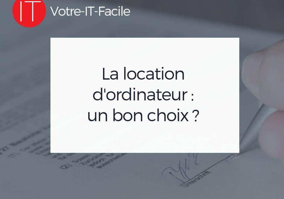 location d'ordinateur