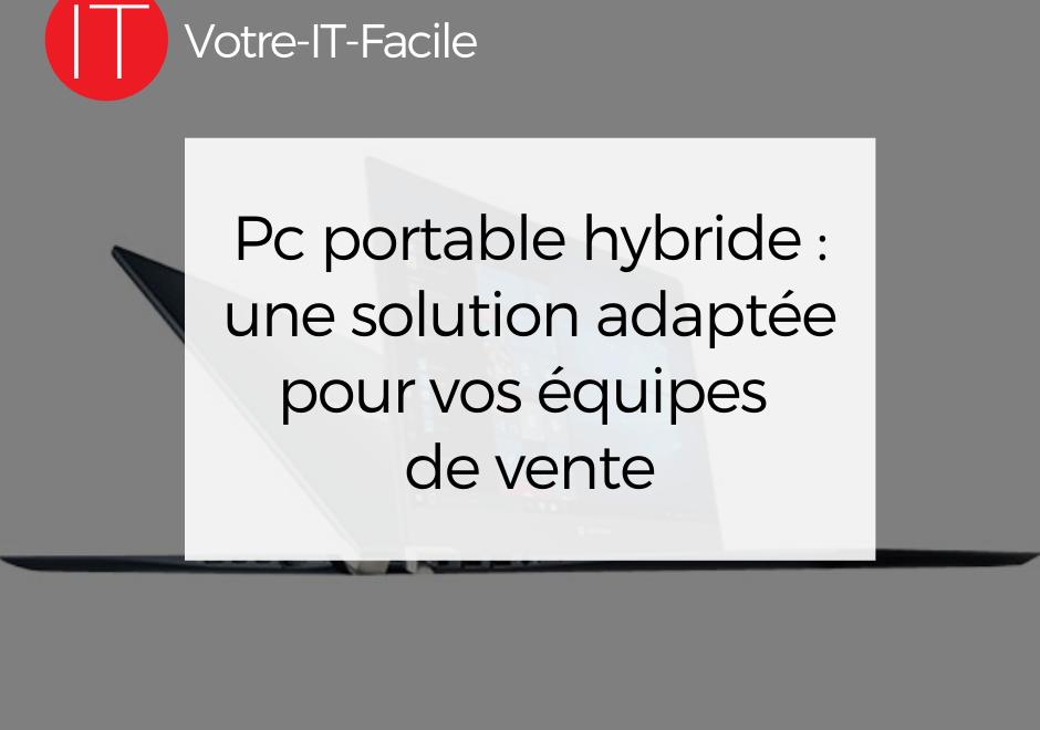 Pc portable hybride
