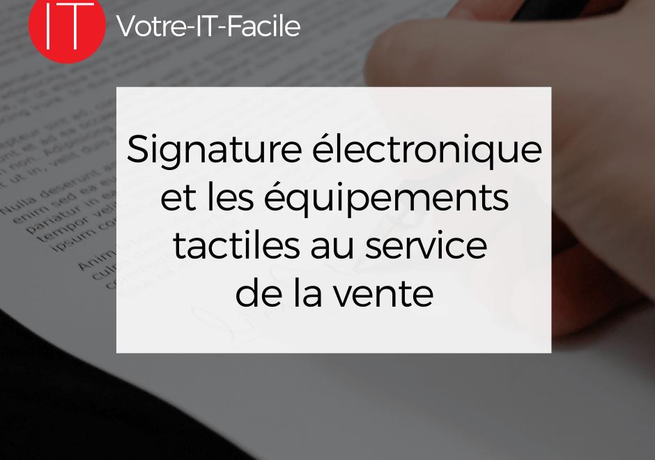 signature électronique