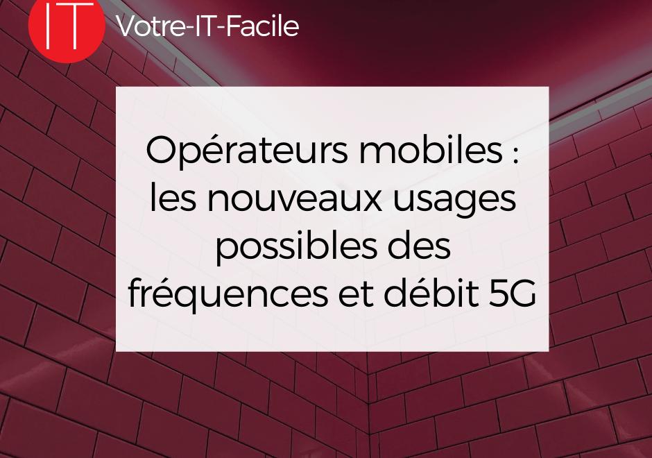 débit 5G