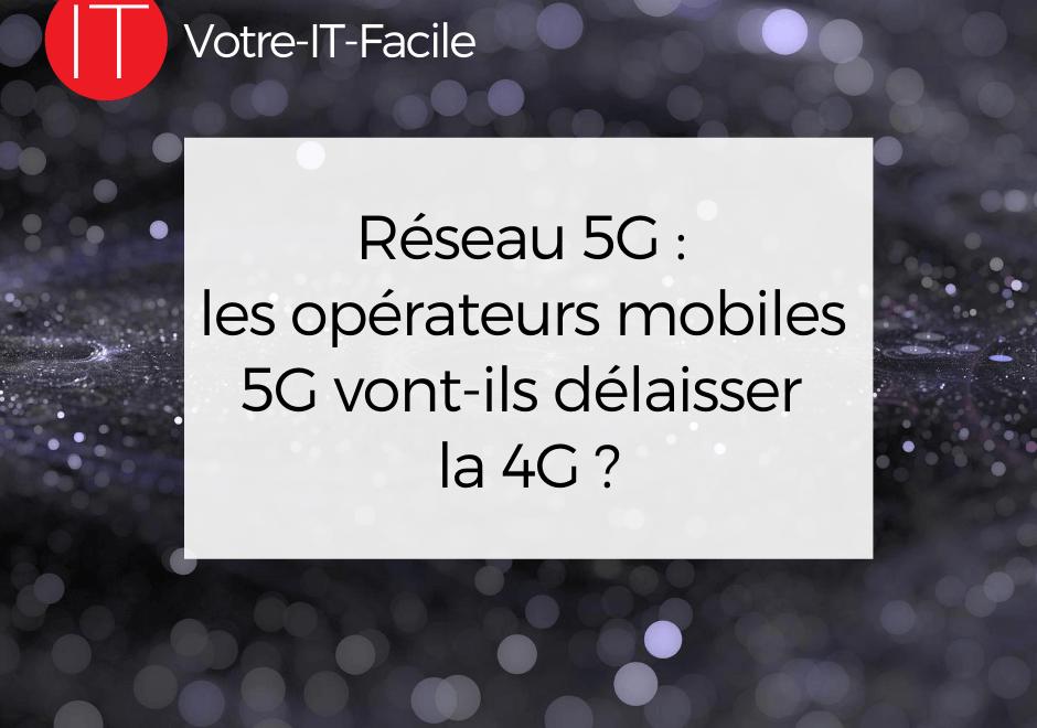 opérateurs mobiles 5g