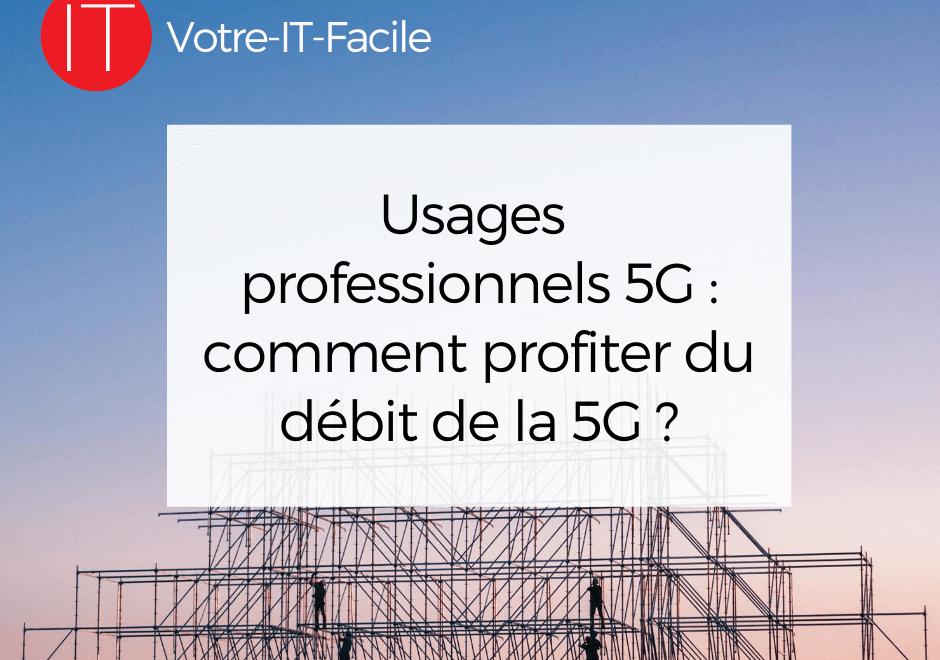 usages professionnels de la 5G