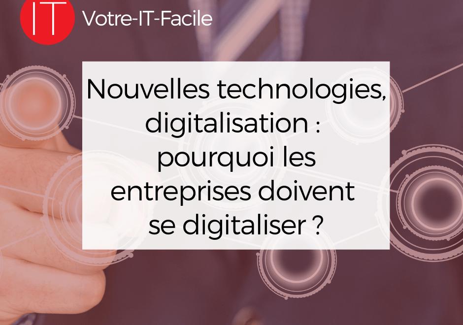 entreprises doivent se digitaliser