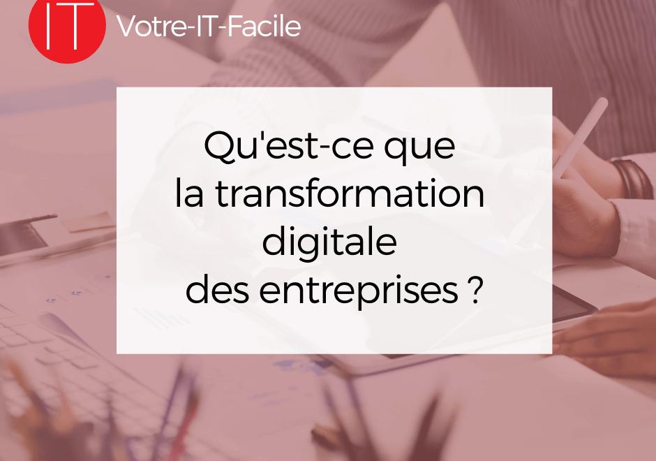 transformation digitale des entreprises