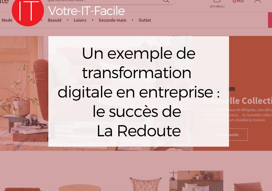 exemple de transformation digitale